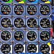 Concorde Controls Art Print