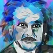Professor Einstein Art Print
