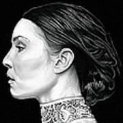 Prometheus - Noomi Rapace Art Print