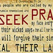 Prophetic Call  Art Print