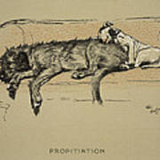 Propitation, 1930, 1st Edition Art Print