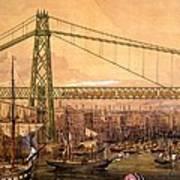 Proposed Railway Bridge Art Print