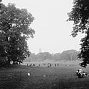 Prospect Park Brooklyn 1900 Art Print by Steve K