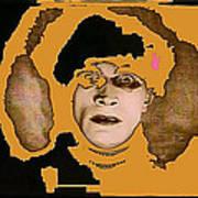 Proto Film Noir Conrad Veidt Cabinet Of Dr. Caligari 1919 Collage Screen Capture 2012 Art Print