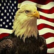 Proud American Art Print