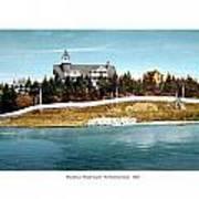Providence Rhode Island - The Pomham Club - 1906 Art Print