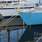 Prows Of Boats Art Print