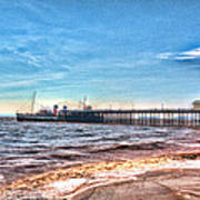 Ps Waverley At Penarth Pier 2 Art Print