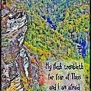 Psalm 119 110 Art Print