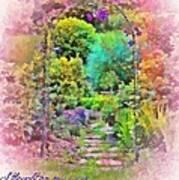 Psalm 119 59 Art Print