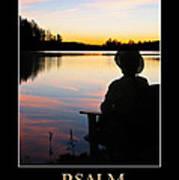 Psalm 46 Art Print