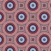 Psycho Swirls Art Print