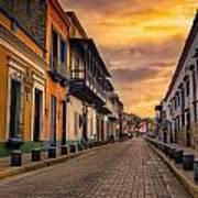 Pto Cabello Colonial District Art Print