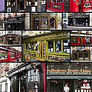 Pubs Of Dublin Art Print by David Smith
