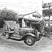 Puckett's Grocery And Restuarant Art Print
