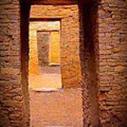 Pueblo Doorways Art Print