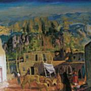 Pueblo Tesuque Number One Art Print