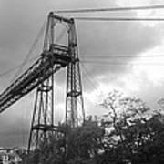 Puente Colgante Art Print