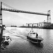 Puente Colgante V Art Print
