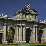 Puerta De Alcala Madrid Spain Art Print