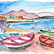 Puerto De Sardina 03 Art Print