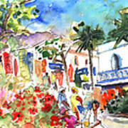 Puerto Mogan 10 Art Print