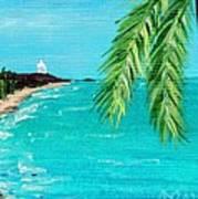 Puerto Plata Beach  Art Print