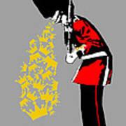 Puke Royal Guard Digital Version Art Print