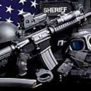 Pulaski Sheriff Tactical Art Print