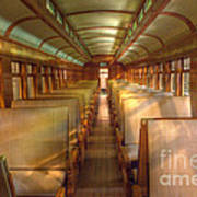 Pullman Porter Train Car Art Print