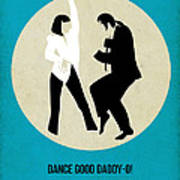 Pulp Fiction Poster 2 Art Print