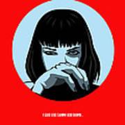 Pulp Fiction Poster 3 Art Print