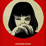 Pulp Fiction Poster Art Print