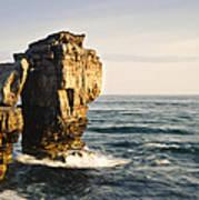 Pulpit Rock Jurassic Coast Art Print