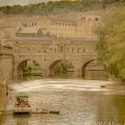 Pulteney Bridge In Bath Art Print