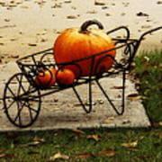 Pumpkin Barrow Art Print
