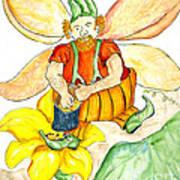 Pumpkin Fairy Art Print