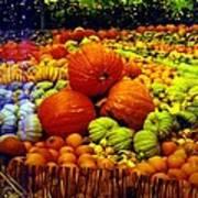 Pumpkin Love Art Print