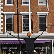 Pumpkin Man Art Print