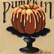 Pumpkin Spice Cake Art Print
