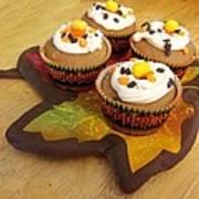 Pumpkin Spice Cupcakes Art Print by Rosalie Klidies
