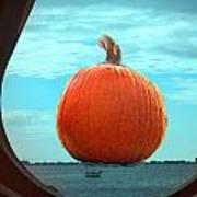 Pumpkin View Art Print