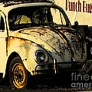 Punch Buggy Rust Art Print