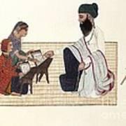 Punjabi Schoolmaster, Artwork Art Print