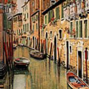 Punte Rosse A Venezia Art Print