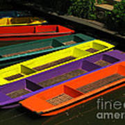 Punts For Hire Art Print
