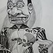 Puppet Art Print
