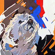 Puppy Design Art Print