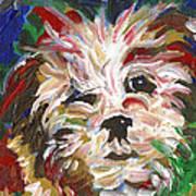 Puppy Spirit 101 Art Print