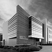 Purdue University Jischke Hall Of Biomedical Engineering Art Print by University Icons